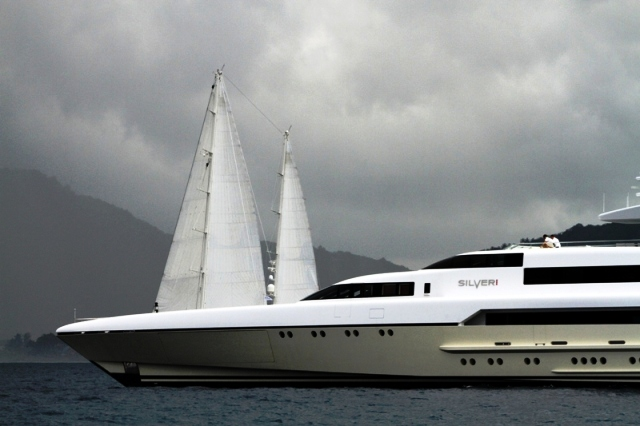 Mega Yacht DRAGONFLY (ex Silver Zwei, Fangio)